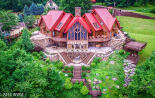 10,000 Square Foot Lakefront Mansion In McHenry, MD