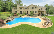 $2.25 Million Stone & Stucco Home In Franklin Lakes, NJ