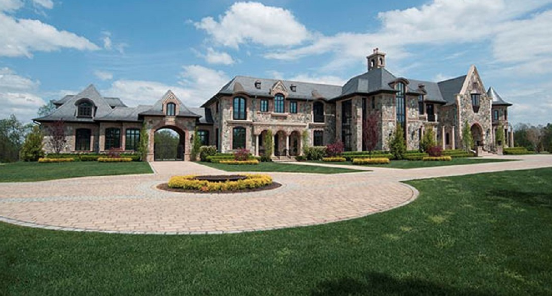 31 000 Square Foot French Inspired Stone Amp Brick Mansion