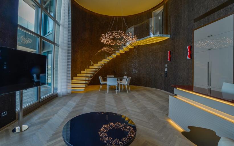 Luxurious Duplex Penthouse In Tel Aviv, Israel