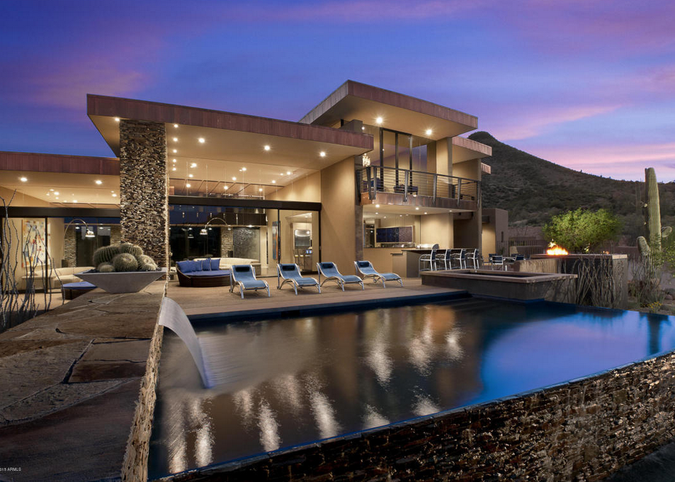 Ordinaire $3.975 Million Contemporary Style Stone U0026 Stucco Home In Scottsdale, AZ