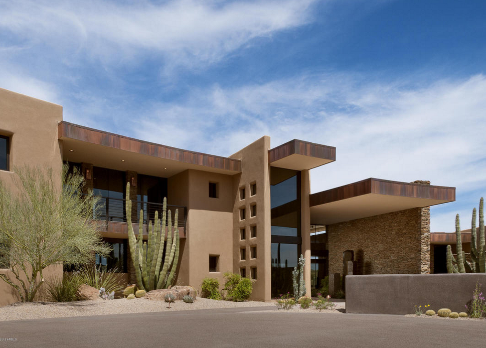 3 975 Million Contemporary Style Stone Amp Stucco Home In
