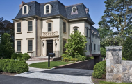 $6.495 Million Limestone Mansion In Greenwich, CT