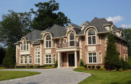 13,000 Square Foot Newly Built Brick Mansion In Upper Saddle River, NJ