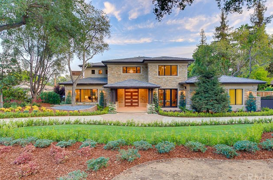 8188 million newly built contemporary craftsman style mansion in arcadia ca - Craftsman Home 2015