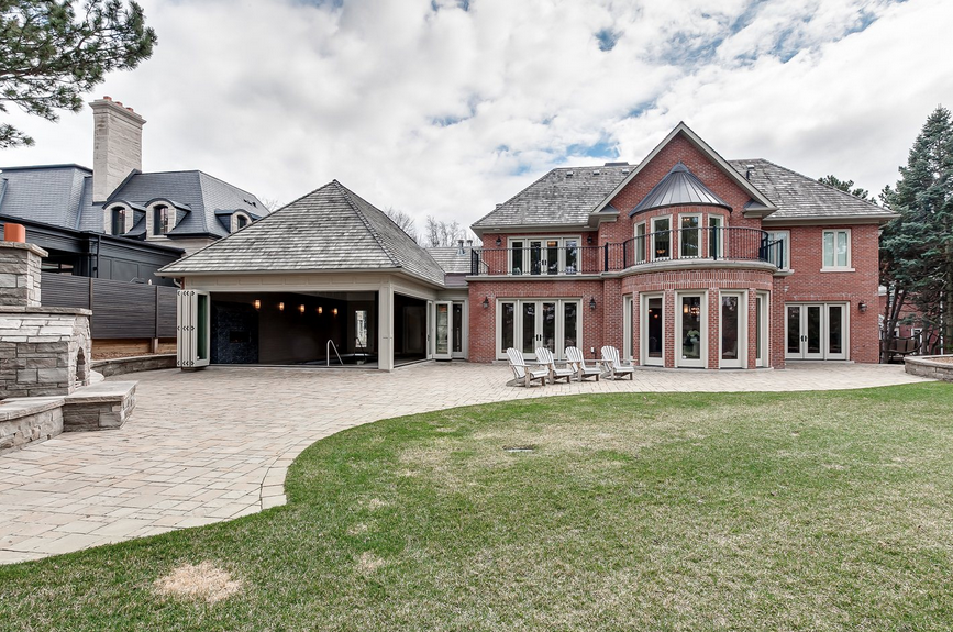 14 000 Square Foot Newly Built Brick Mansion In Toronto