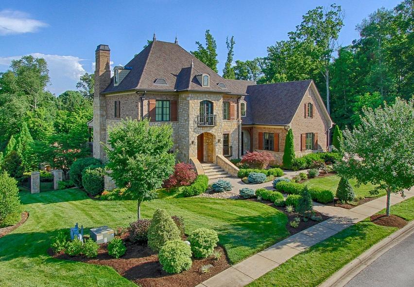 $1.795 Million Brick & Stone Mansion In Knoxville, TN