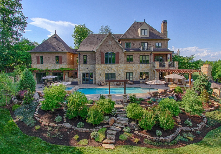 1 795 Million Brick Amp Stone Mansion In Knoxville Tn
