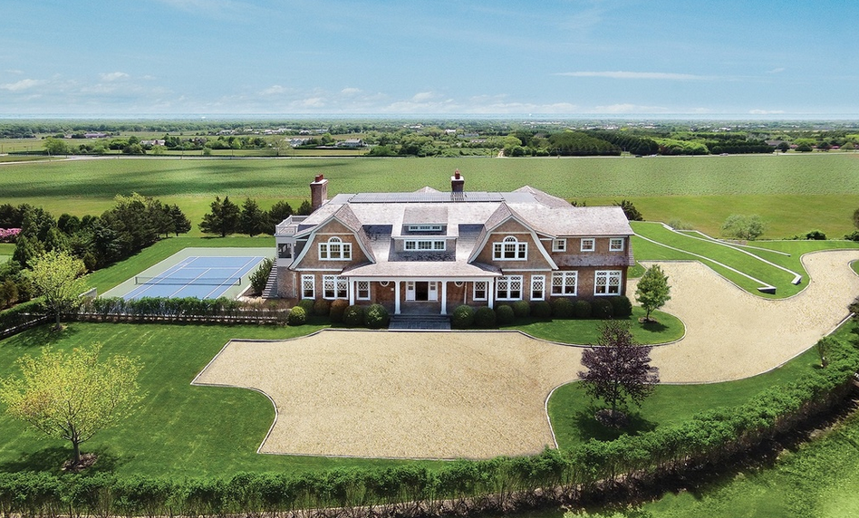 $10.995 Million Newly Built Shingle Style Mansion In Bridgehampton, NY