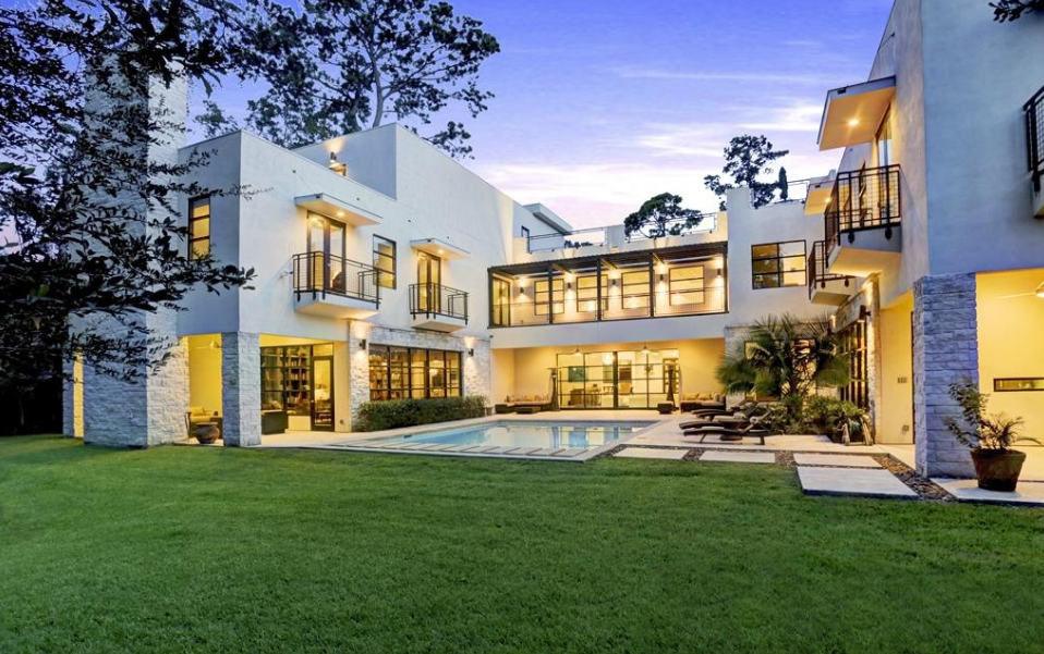 4 5 million contemporary mansion in houston tx homes of the rich