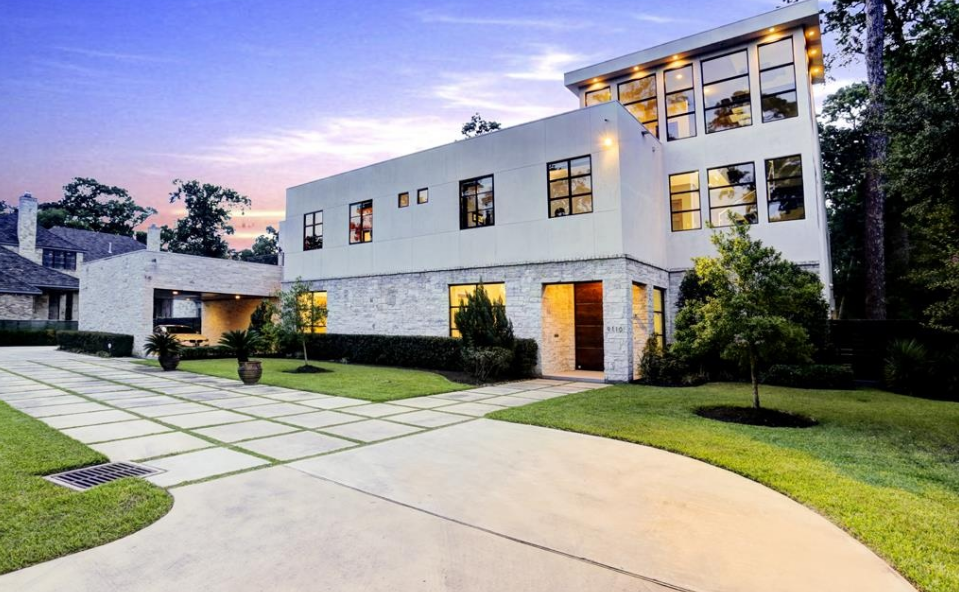 4 5 million contemporary mansion in houston tx homes for Modern houses in houston