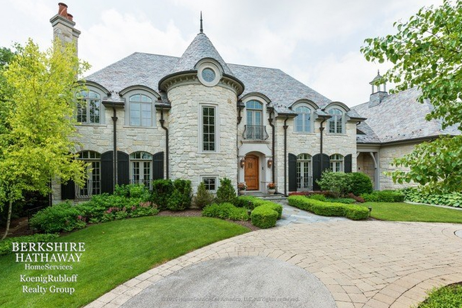 Million french provincial home in lake forest il for French provincial home designs