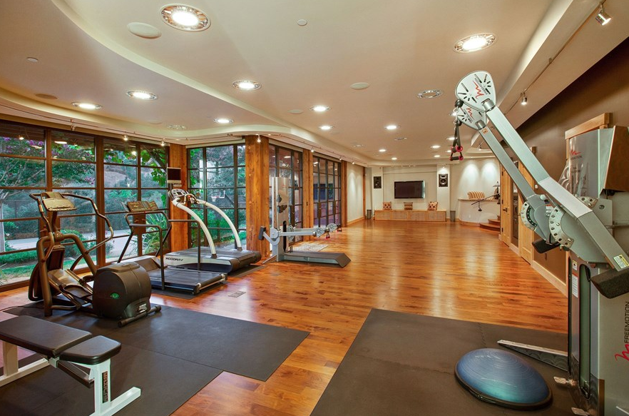 23 000 square foot estate in orinda ca homes of the rich for Luxury home gym