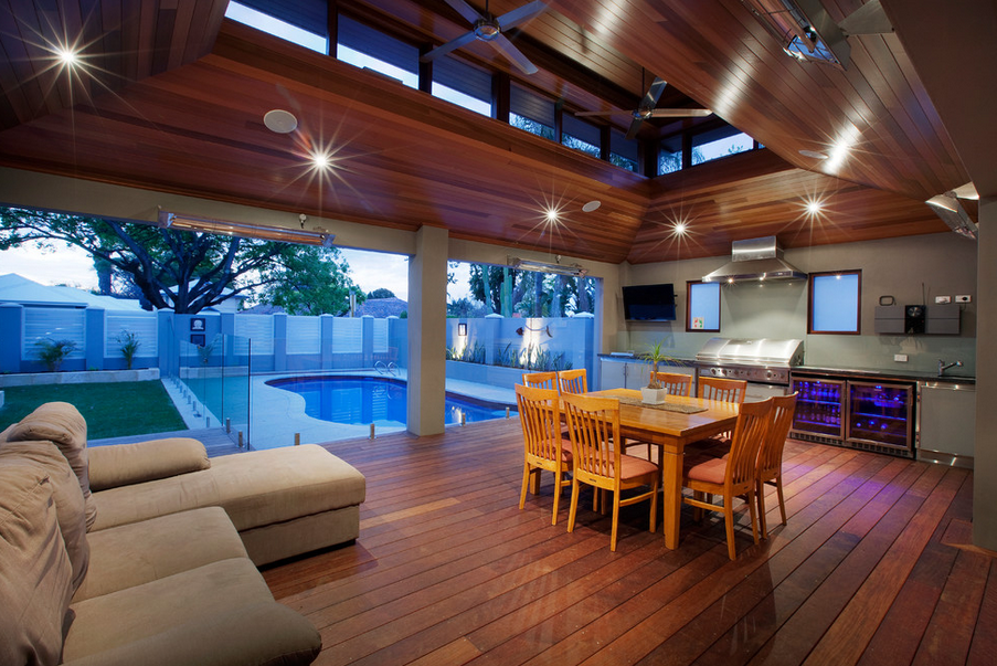 12 Covered Outdoor Kitchens Perfect For Summer Entertaining!