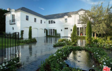 $23.5 Million Newly Built Georgian Style Mansion In Beverly Hills, CA