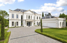 10,000 Square Foot Newly Built Mansion In Surrey, England