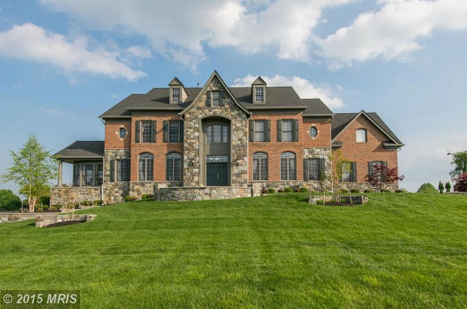 Brick Amp Stone Colonial Mansion In Laytonsville Md For