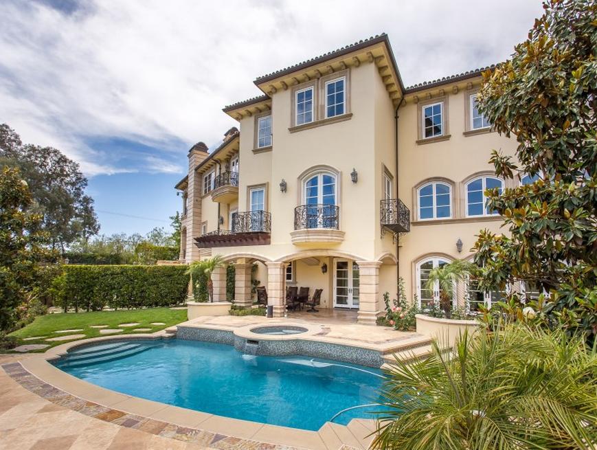 Mediterranean Mansion In Beverly Hills, CA – $35,000/Month