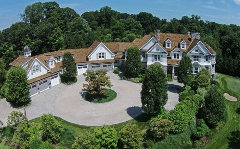 15,000 Square Foot Colonial Mansion In Westport, CT