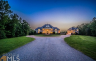 19,000 Square Foot Brick Mansion In Newnan, GA