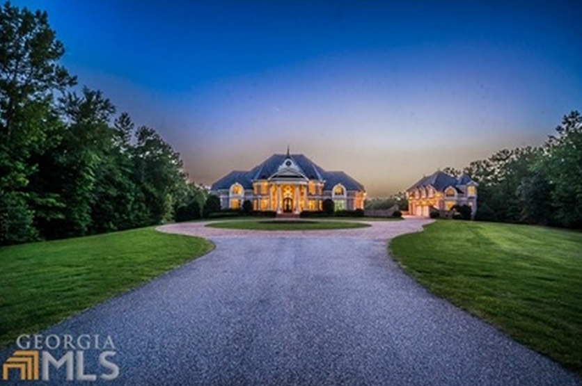 19000 square foot brick mansion in newnan ga homes of