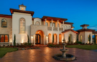 $2.5 Million Mediterranean Style Home In Sunnyvale, TX