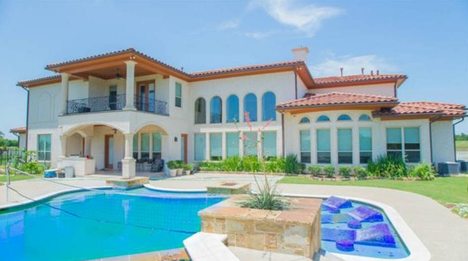 3 Car Garage Square Footage >> $2.5 Million Mediterranean Style Home In Sunnyvale, TX | Homes of the Rich