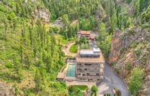 Sleeping Child Hot Springs – A Mountaintop Estate In Hamilton, Montana
