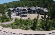 $13 Million Lakefront Mansion Under Construction In Charlevoix, MI