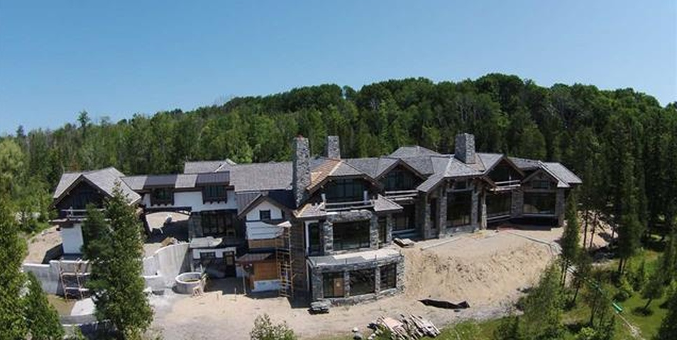 13 Million Lakefront Mansion Under Construction In