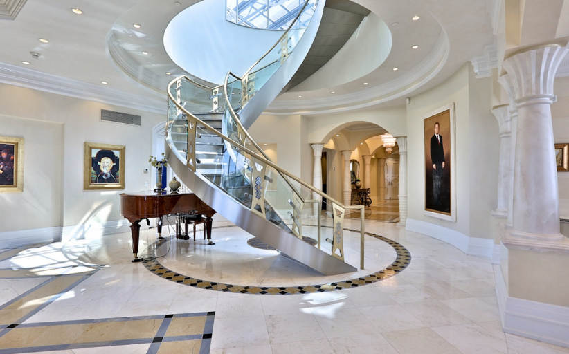Lavish 16,000 Square Foot Penthouse In Ontario, Canada Re-Listed