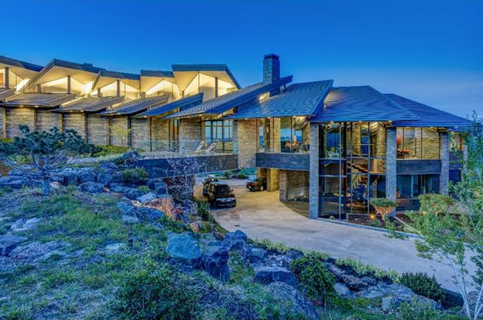 $25 Million Newly Built Mountaintop Contemporary Home In Park City, UT