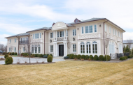 $6.3 Million Pre-Cast Stone & Stucco Mansion In Cresskill, NJ Re-Listed