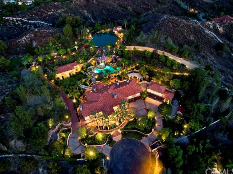 10 995 Million Mediterranean Estate In Coto De Caza Ca