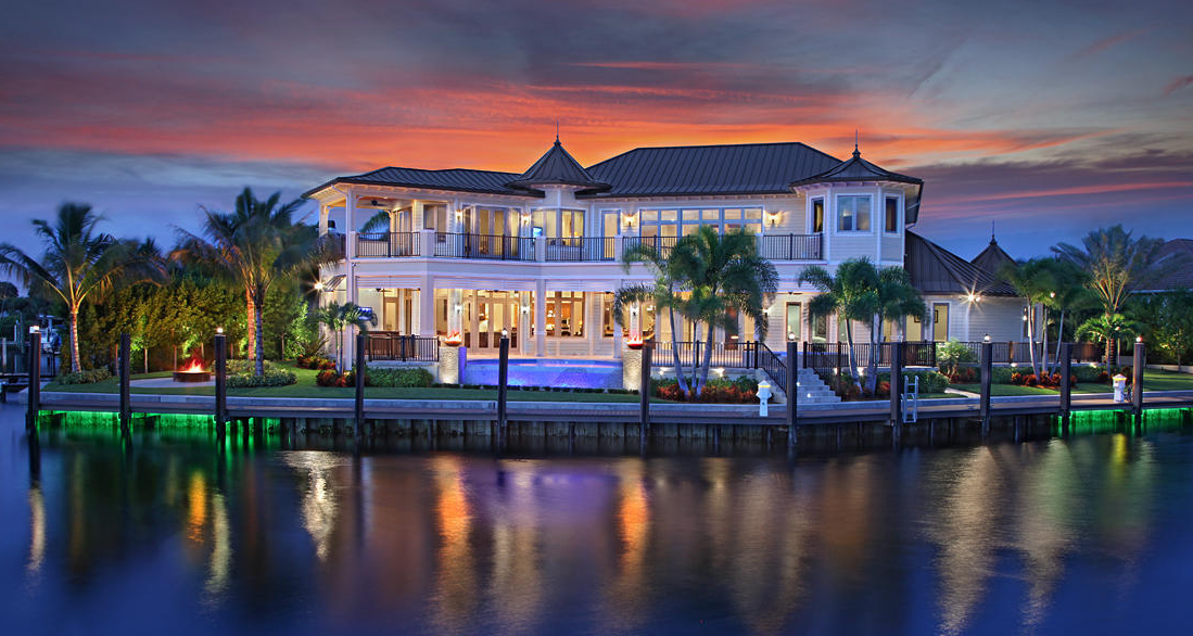 4 9 Million Waterfront Home In Palm Beach Gardens Fl Homes Of The Rich