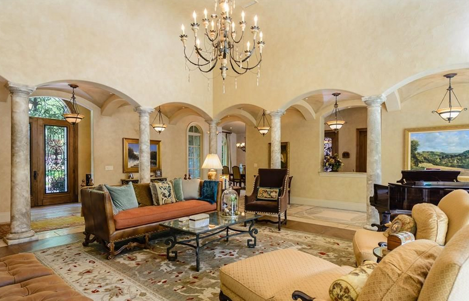 11 000 Square Foot Mediterranean Mansion In Dallas TX Homes Of The Rich