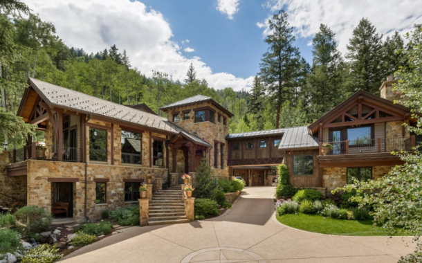 Cothelstone Manor – A $16.95 Million Mountaintop Mansion In Aspen, CO