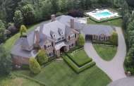 14,000 Square Foot Brick Mansion In Livingston, NJ