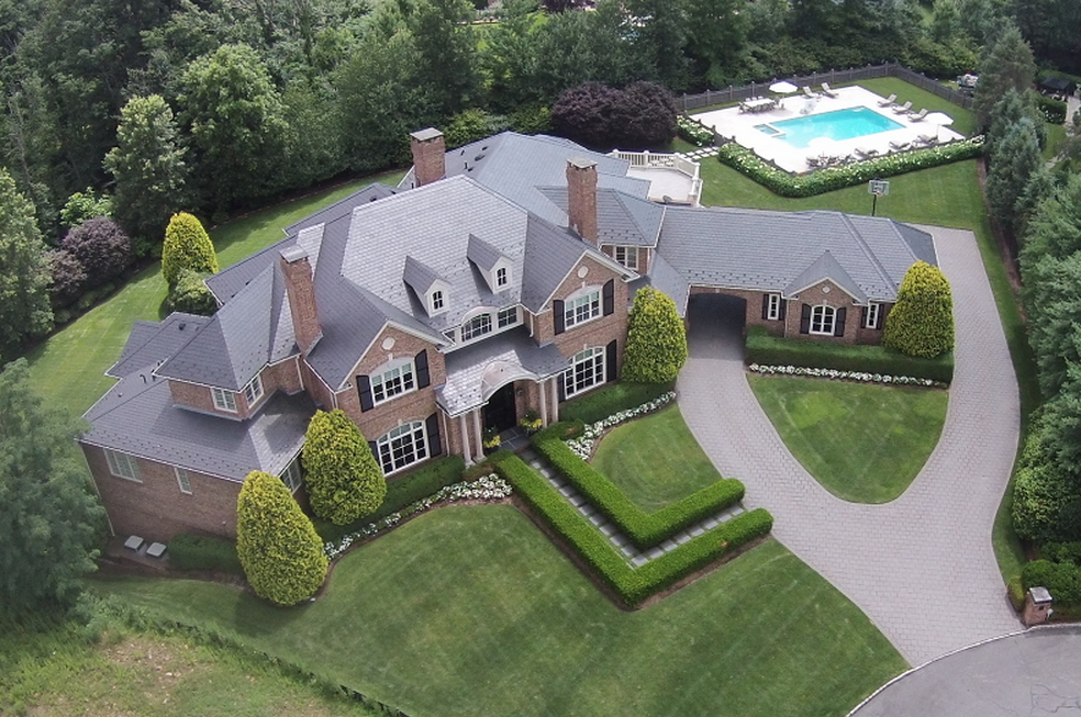 Houses For Sale Livingston Nj : 14,000 Square Foot Brick Mansion In Livingston, NJ  Homes ...