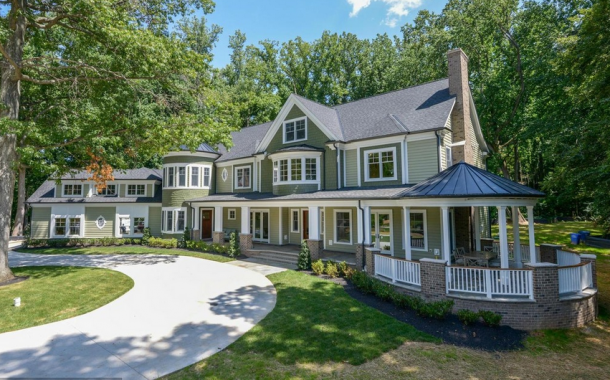 13,000 Square Foot Newly Built Mansion In Rockville, MD