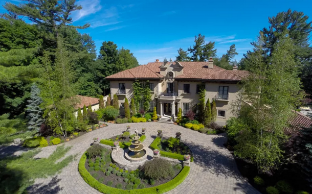 $16 Million Waterfront European Inspired Mansion In Ontario, Canada