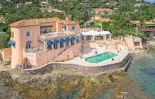 Newly Listed Waterfront Villa In Les Issambres, France