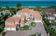 Casa de las Olas – A $7.9 Million Beachfront Home In Nokomis, FL