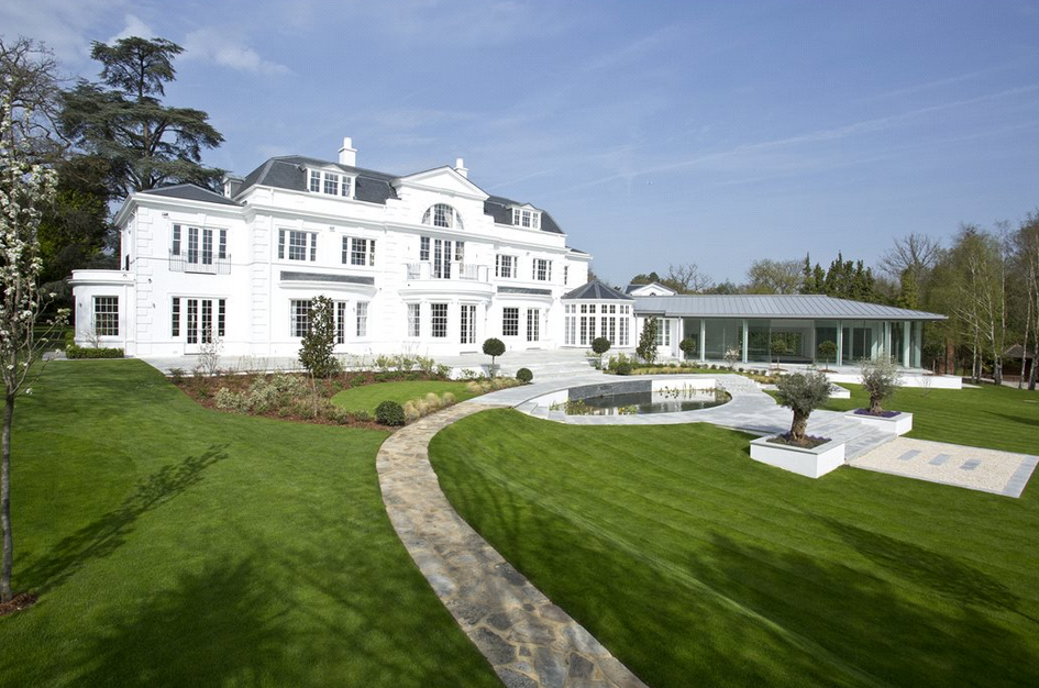 Stately 21 000 Square Foot Newly Built Mansion In Surrey