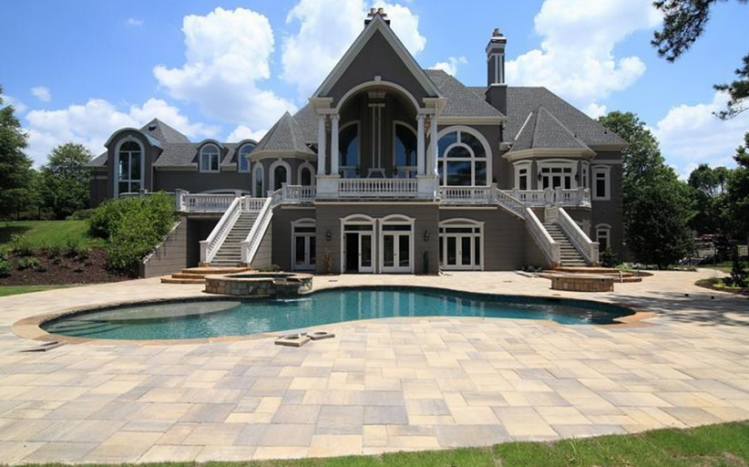 11,000 Square Foot Newly Built Mansion In Duluth, GA