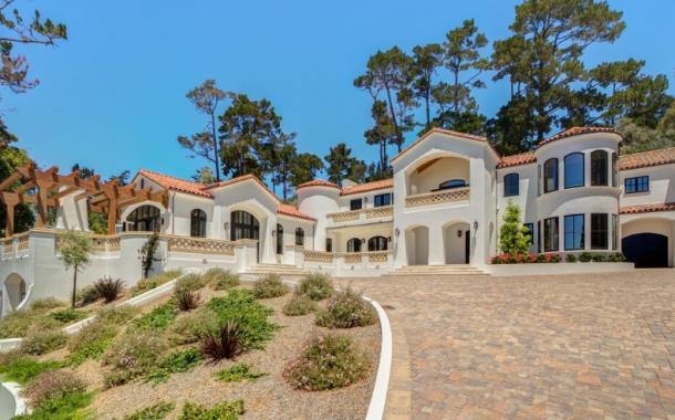 $8.95 Million Mediterranean Mansion In Pebble Beach, CA