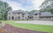 $2.425 Million Newly Built Brick Home In Sandy Springs, GA