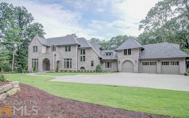 $2.425 Million Newly Built Brick Home In Sandy Springs, GA