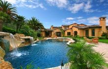 11,000 Square Foot Tuscan Inspired Mansion In Rancho Santa Fe, CA