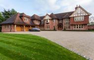 Stately Brick Mansion In Cheshire, England